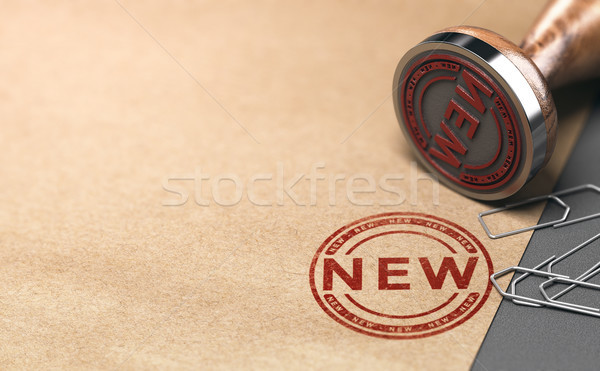 Introducing a New Product or Service, Advertising Concept Stock photo © olivier_le_moal