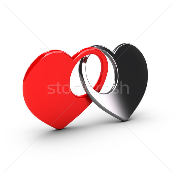 Love Card - Union Stock photo © olivier_le_moal