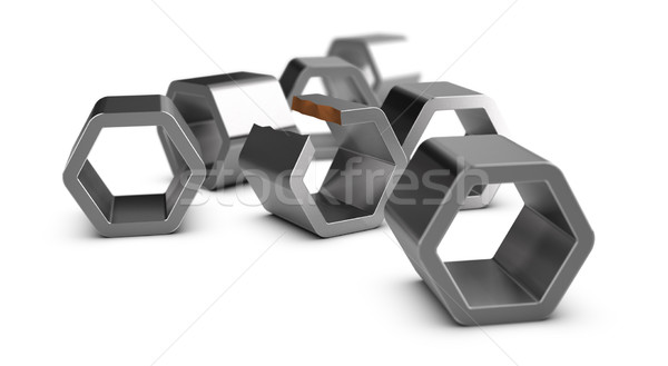 Manufacturing defect, Quality Control  Stock photo © olivier_le_moal