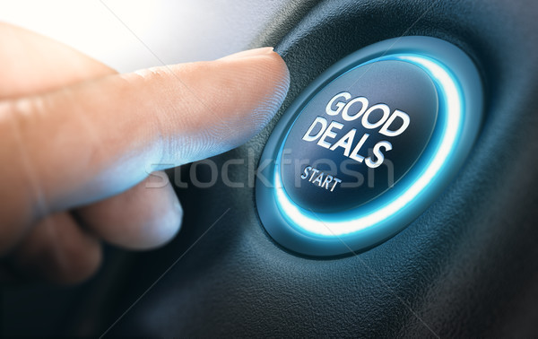 Good New Car Deals, Auto Sales Stock photo © olivier_le_moal