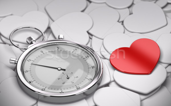 Speed Dating Concept - Love Stock photo © olivier_le_moal