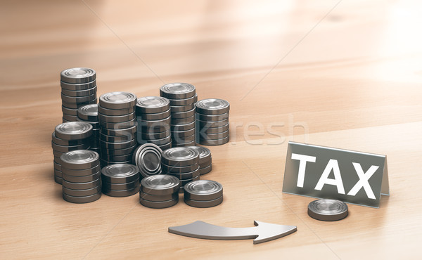 Financial Advisory, Corporate Tax Planning or Optimization Stock photo © olivier_le_moal