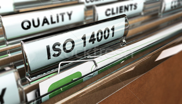 Quality Standards, ISO 14001. Stock photo © olivier_le_moal