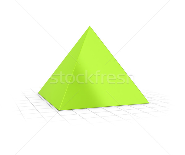 Pyramid Chart Stock photo © olivier_le_moal