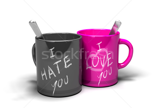 love hate relationship Stock photo © olivier_le_moal