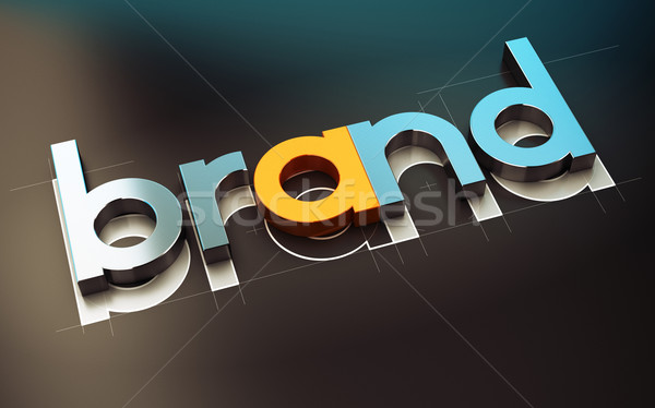Brand Design Stock photo © olivier_le_moal