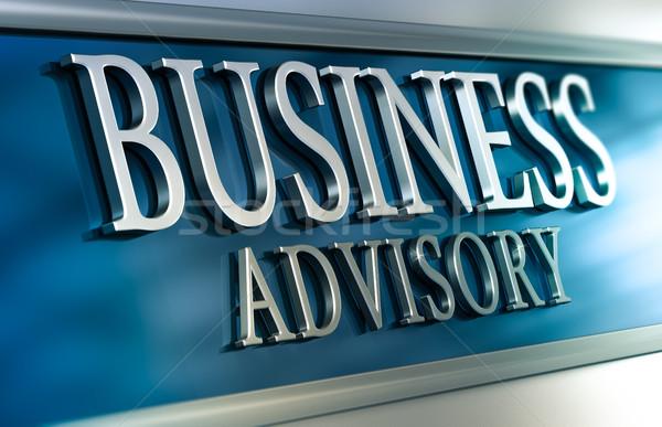 Business Advisory Stock photo © olivier_le_moal