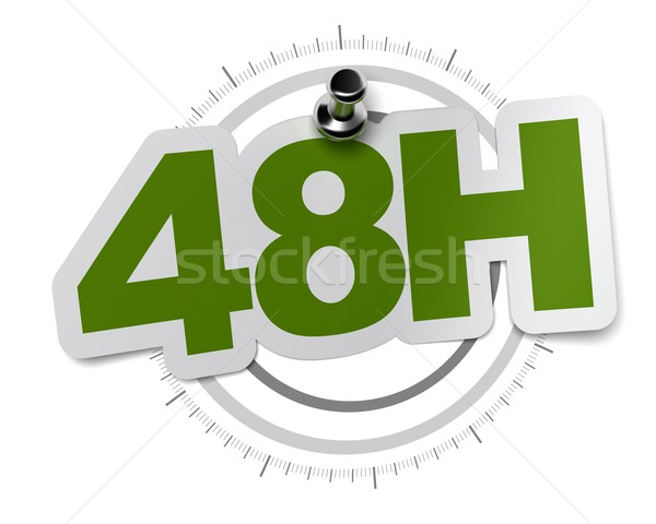 fourty height hours shipping Stock photo © olivier_le_moal