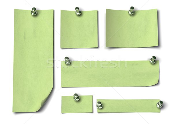 Set of green notes Stock photo © olivier_le_moal