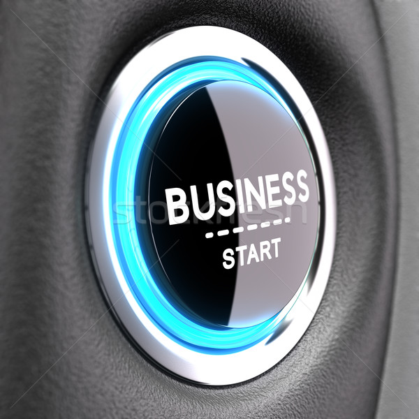 New Business Concept - Entrepreneurship Stock photo © olivier_le_moal
