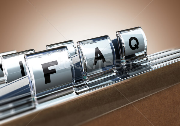 FAQ Stock photo © olivier_le_moal