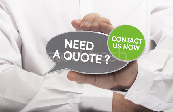 Get a Quote Stock photo © olivier_le_moal