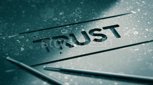 Trust Concept Stock photo © olivier_le_moal