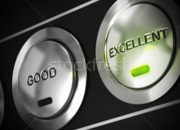 quality rating, excellent performance Stock photo © olivier_le_moal