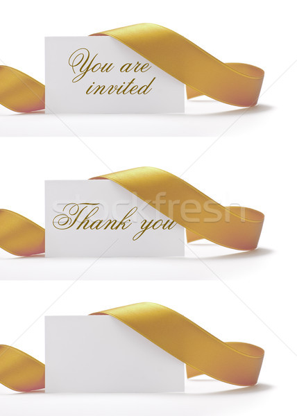 Stock photo: greeting card, invitation cards