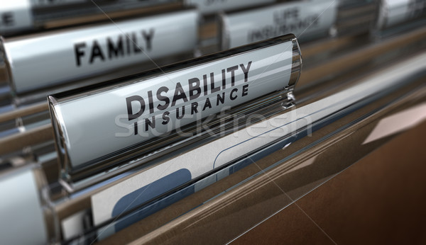 Disability Insurance Stock photo © olivier_le_moal