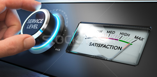 Service Satisfaction Indicator Stock photo © olivier_le_moal