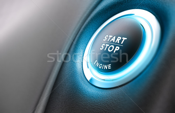 Car Stop Start System Stock photo © olivier_le_moal
