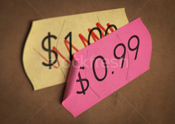 Psychological Pricing. Stock photo © olivier_le_moal