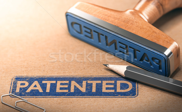 IP, Intellectual Property Patent Concept Stock photo © olivier_le_moal