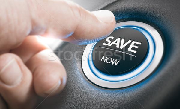 Dealership Concept, Car Sales, Best Offers. Stock photo © olivier_le_moal