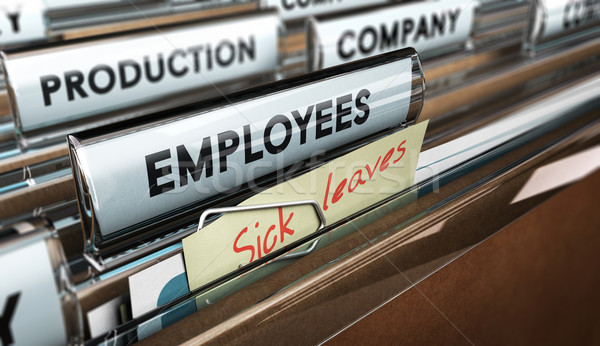 Sick Leave Stock photo © olivier_le_moal