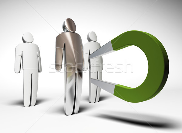 attract customer Stock photo © olivier_le_moal
