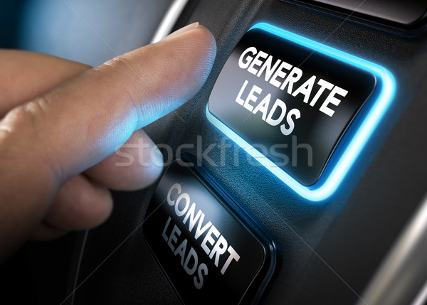 Generating and Converting Sales Leads Stock photo © olivier_le_moal