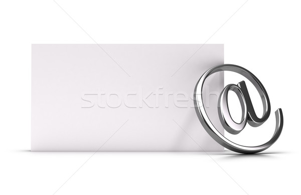 Email Address or Contact Concept Illustration Stock photo © olivier_le_moal