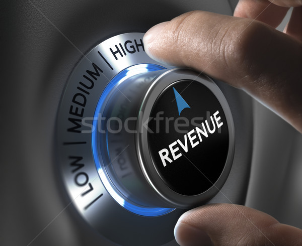 Increase Sales Revenue Stock photo © olivier_le_moal