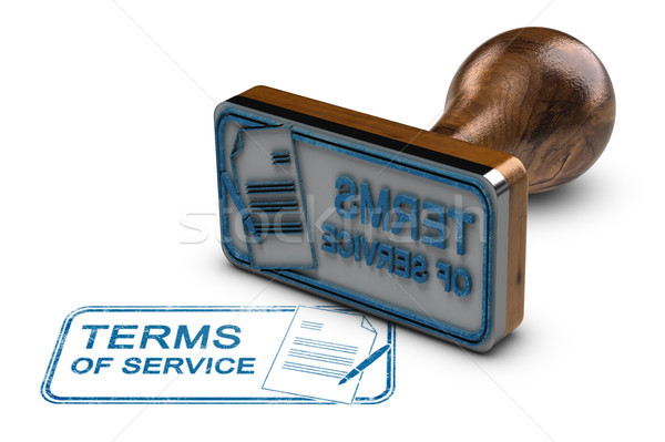 Terms of Service Stock photo © olivier_le_moal
