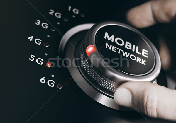 5th Generation Mobile Network, 5G Wireless System Stock photo © olivier_le_moal