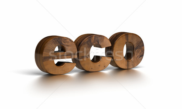 eco word Stock photo © olivier_le_moal