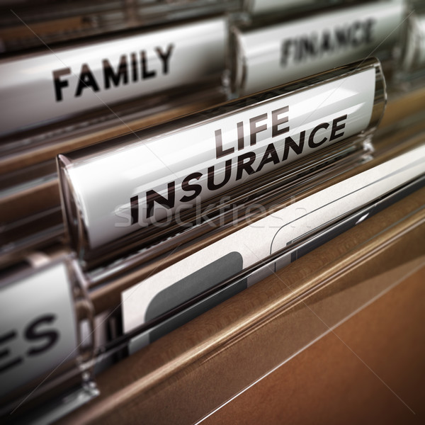Life Insurance Contract Stock photo © olivier_le_moal
