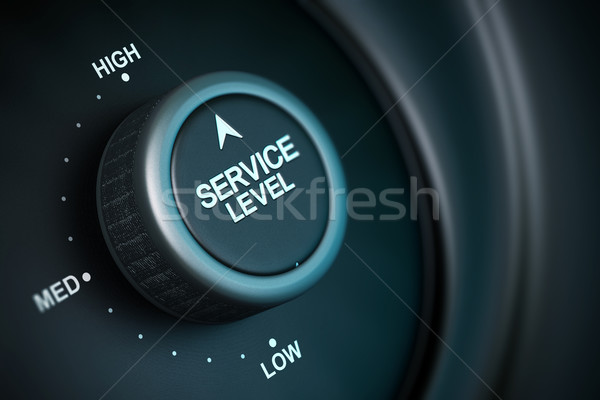high service level Stock photo © olivier_le_moal