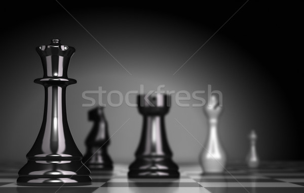 Chess Game Stock photo © olivier_le_moal