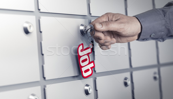 Job Offers Concept Stock photo © olivier_le_moal