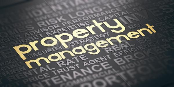 Property Management Background Stock photo © olivier_le_moal