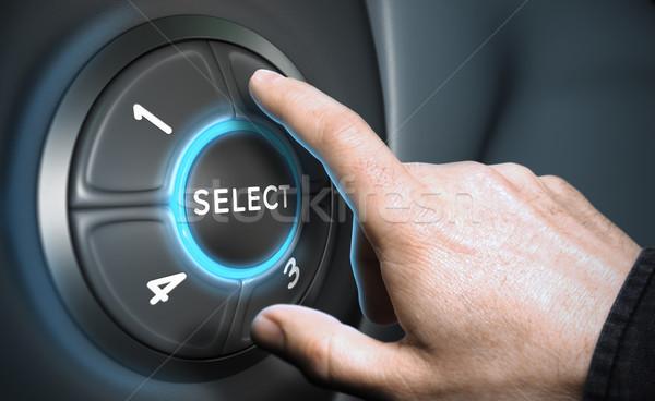 Stratagic Decision Making Stock photo © olivier_le_moal