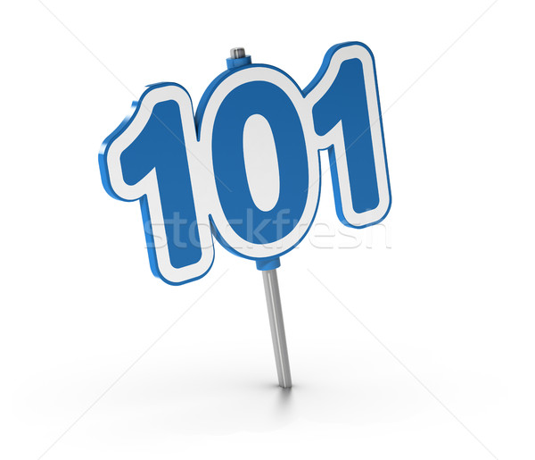 Beginner Courses, Number 101  Stock photo © olivier_le_moal