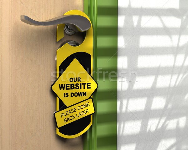 website down, web site access problem Stock photo © olivier_le_moal