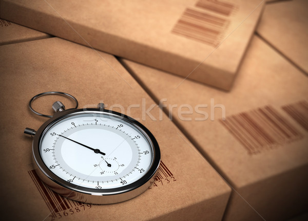 express courier Stock photo © olivier_le_moal