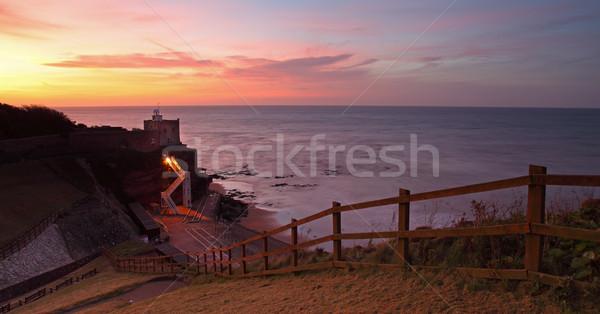 Sunset at Jacobs Ladder Stock photo © ollietaylorphotograp