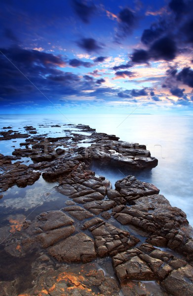 Kimmeridge bay Dorset Stock photo © ollietaylorphotograp