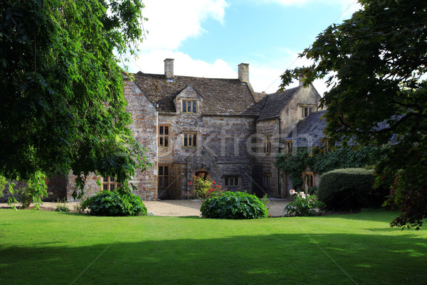 Grand gatehouse in dorset england Stock photo © ollietaylorphotograp