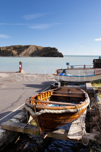 Lulworth Cove Dorset Coast England Stock photo © ollietaylorphotograp