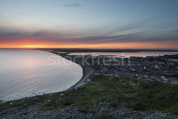 Chesil Beach  Stock photo © ollietaylorphotograp