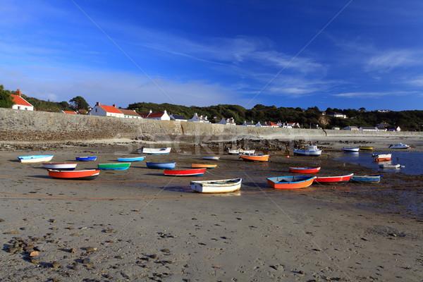 Rocquain Bay Guernsey Stock photo © ollietaylorphotograp