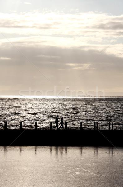 нет описание небе солнце закат природы Сток-фото © ollietaylorphotograp