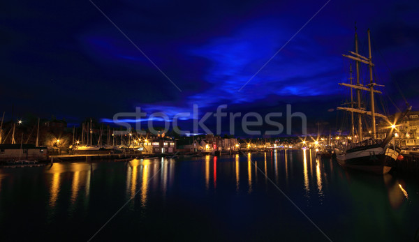 закат Англии небе пейзаж морем Сток-фото © ollietaylorphotograp